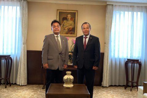 ベトナム大使館表敬訪問