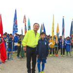第1384回3月第二例会「第35回富士市招待富士吉原ライオンズ杯少年少女サッカー富士大会」