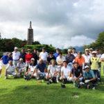 ゴルフ8月例会 朝霧CC