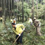 10月第二例会「ライオンズの森 清掃」
